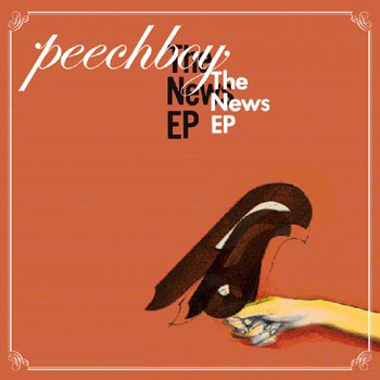 """PEECHBOY / THE NEWS EP""(12"")をリリース!"
